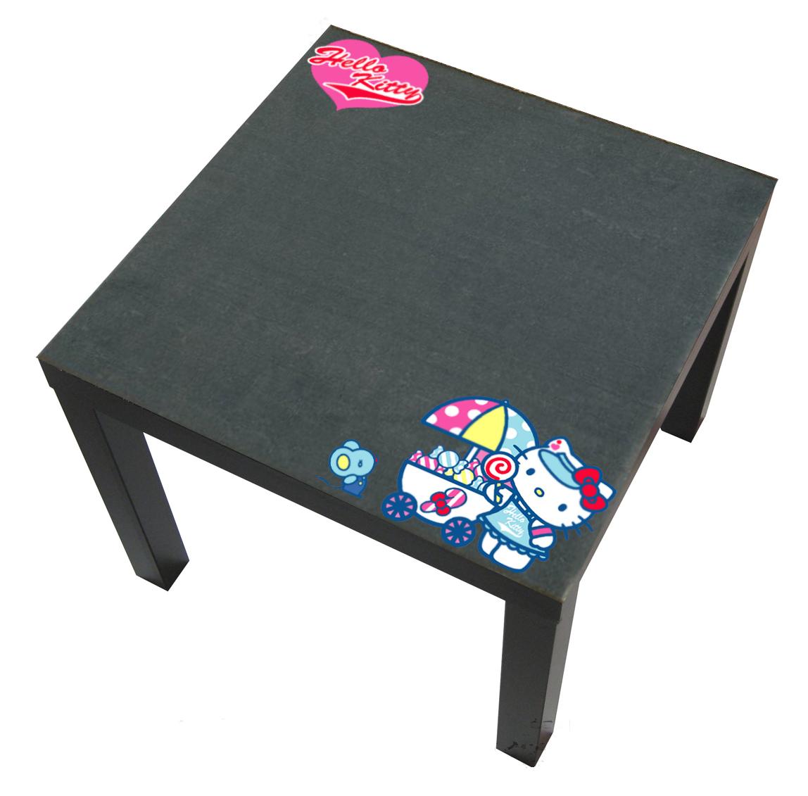 Tavolino Hello Kitty.Tavolino Lavagna Hello Kitty Larettart